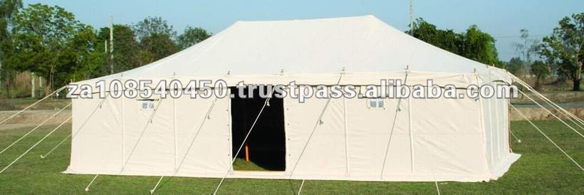 Canvas hiproof tent