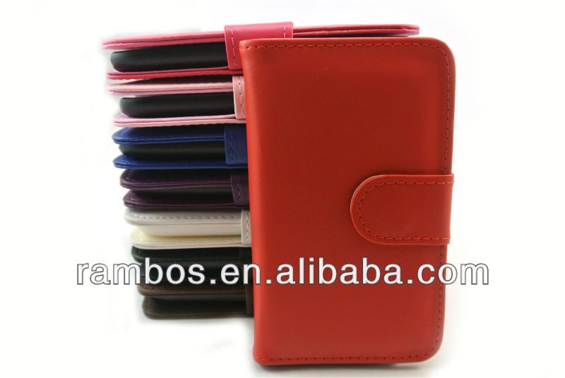 Smartphone Case with Card Holder Slots, Leather Stand Wallet Case Cover for Samsung Galaxy S3 i9300