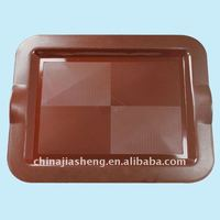 Plastic double color plate