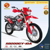 New Arrival Dirt Bike Red Invert Absorber for Adult with Best Price SD200GY-10A
