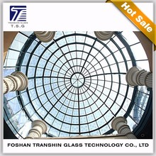 12mm tempered laminated clear glass for dormer window glass