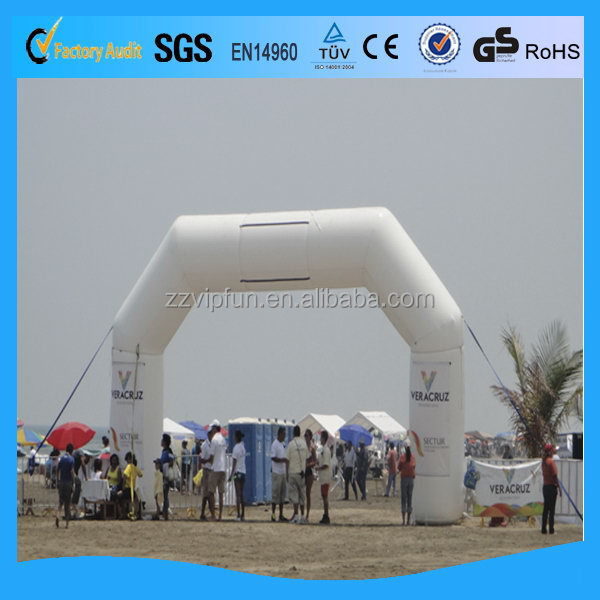 Customized top sell inflatable plant arch