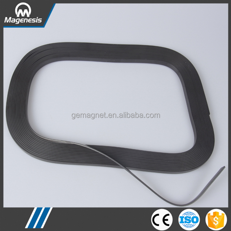 Professional manufacturer hot selling soft flexible rubber magnet pieces