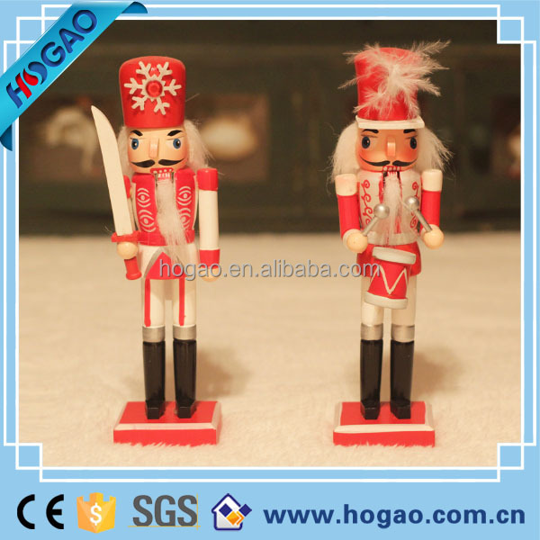 Life size resin nutcracker customized christmas nutcracker doll for deco