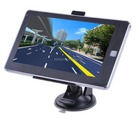 "7"" Touch Screen CPU 800MHZ FM 256MB 8GB 2016 Maps Muli-languages Car GPS Tracking System"