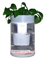 High quality acrylic material built-in filter small fish tank