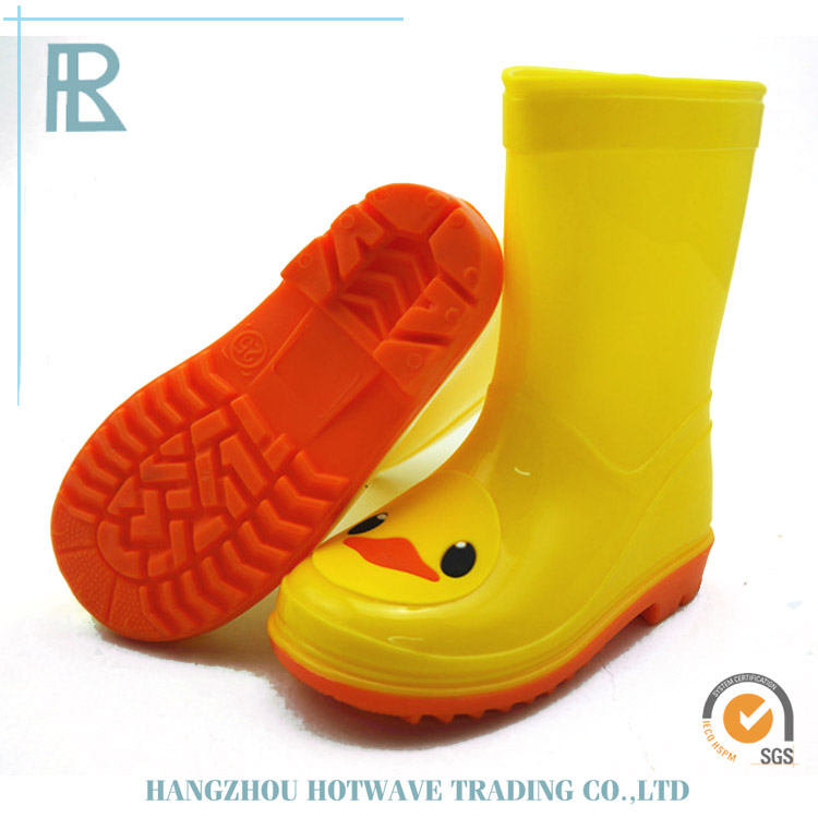 China Fashion Cheap Fashion Duck Rubber Rain Boots For Kids
