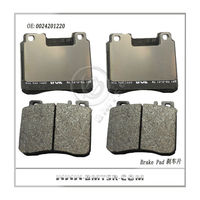 For Mercedes Benz w140 disc brake pad china best selling brake pad