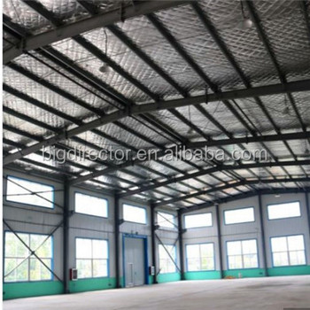 DFX Metal Shad Steel Structure Godown Design