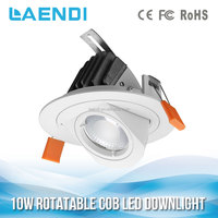 30W LED COB Ceiling downlighting patent design CE ROHS approved rotable design roofing pop