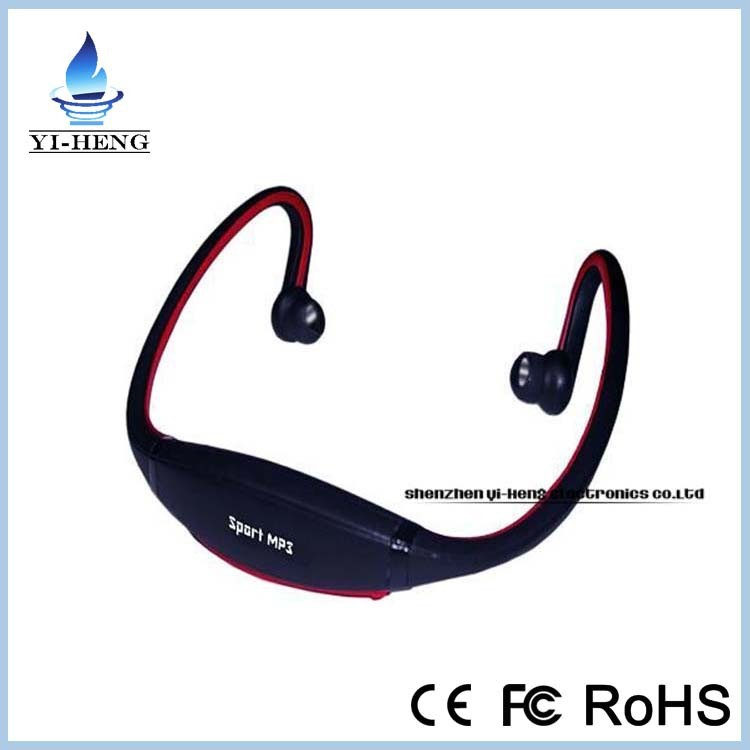 Top selling wireless headphone earphone sport mp3 headphone with sd card