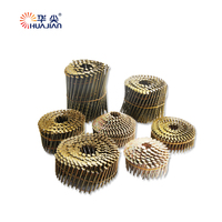 Elegant Top Quality Ring Shank Coil Nails For Pallet Common Coil Nails