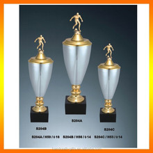 Special plain fantasy football soccer trophy football trophy