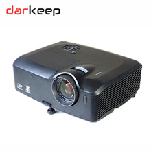 Government Business Use 300 Inch 6000 ANSI Lumen Highlight Engineering Projector