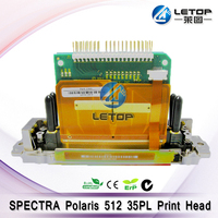 Brand New Solvent Inkjet Printer Parts Spectra Polaris 512 35pl SolventPrinthead Compatible for Gongzheng GZT3204 Printer