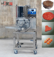 Mayjoy Professional 304 Stainless Steel Automatic Beef Shrimp Meat Hamburger Burger Patty Forming Making Machine