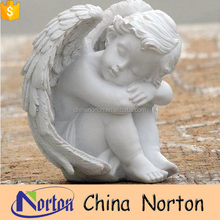 garden decorative sleeping angel fiberglass angel statue NT-FSY008
