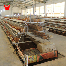 Yonggao Farming hot dip galvanized top quality chicken egg layer cages