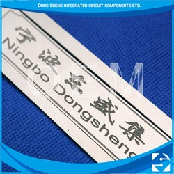 High quality oem aluminum plate photo chemical etching nameplate for motorcycle