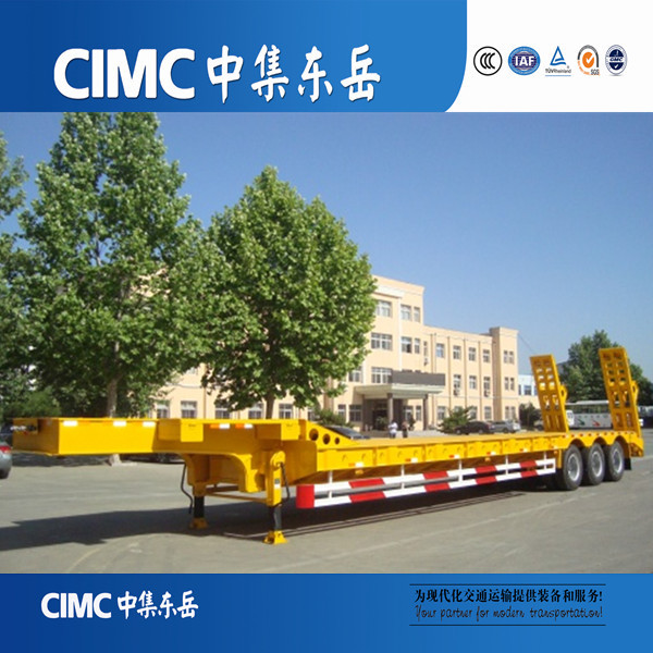 CIMC 3 Axle Heavy Haul and Super Heavy Lowbed Semi Trailers for Forest and Oilfield Industries
