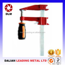 OEM Steel pole clamps for telescopic poles clamp/Purlin log clamps