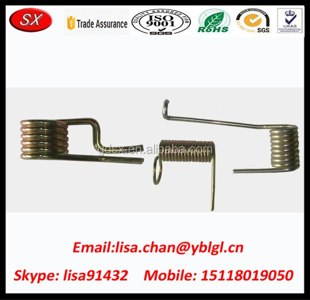 Custom Made Sheet Metal Spring U Shaped Clip