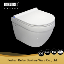 New coming bathroom rimle wall hung WC toilet porcelain sanitary ware