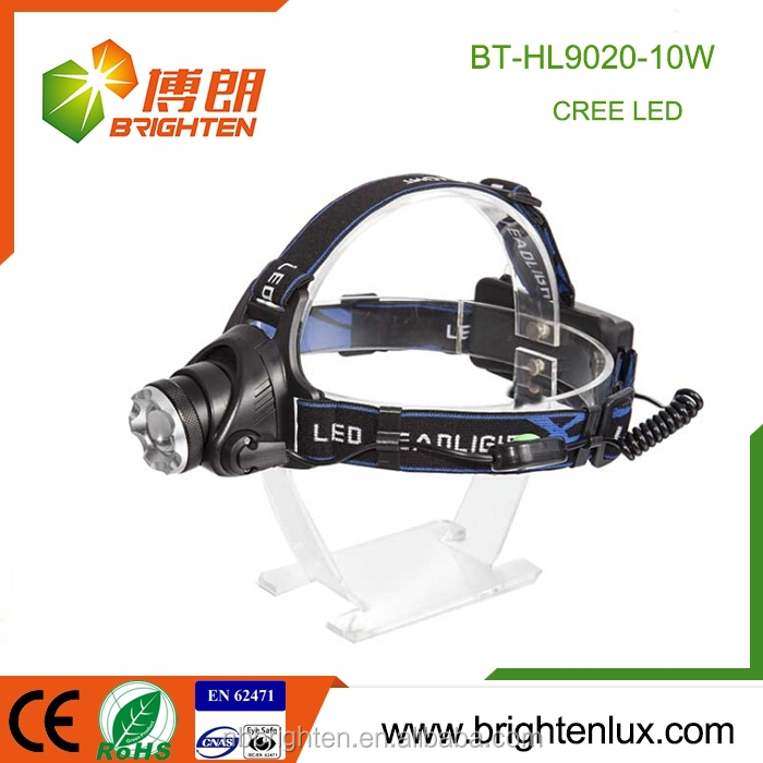 China Cheap Wholesale Popular Best Long range mult-function High Power 10-watt cree t6 led headlights