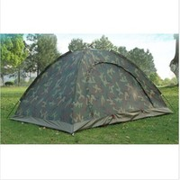 Camo Outdoor Camping Waterproof 2 Person 4 Season Folding Tent Camouflage Hiking Tent