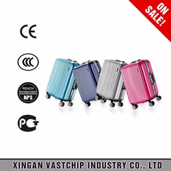 2016 high quality hardshell abs+pc trolley bags luggages