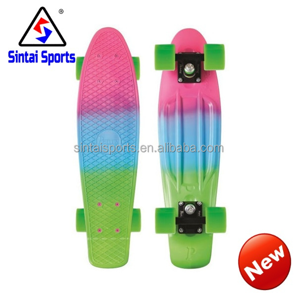 "New Design 22"" cruiser skate board with CE"