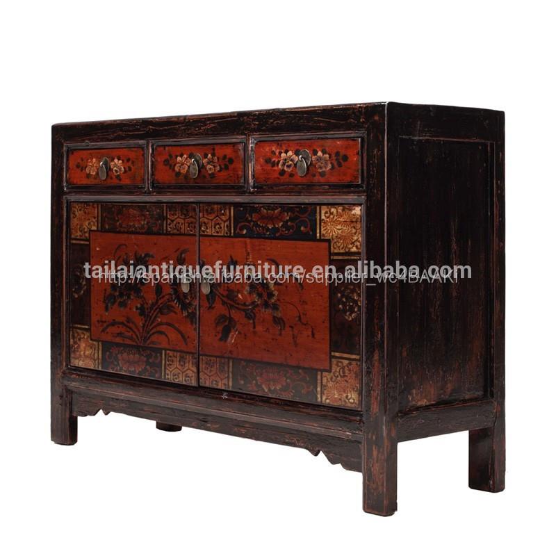 Muebles antiguos de madera para comedor aparador r stico for Muebles de comedor antiguos