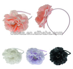 Ladies Hairbands Hair Accessory Headbands 2013 Fashion Alice Hair Band Hair Hoop,Chiffon Flower Hairband
