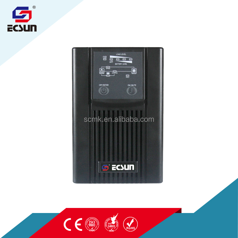 high frequency 1KVA 220V kstar ups solar ups system online ups with led display