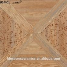 In China Wood Vitrified Designs Artificial Marble Floor Tiles