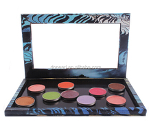 New empty magnetic makeup eyeshadow blush lipgloss palette