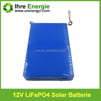 deep cycle life 12v 15ah lifepo4 lithium iron phosphate battery pack for golf cart