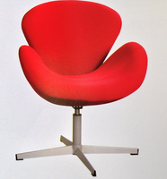 stainless steel diining chair swan swivel chairs FC-M001