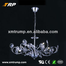 Silver metal decoration contemporary pendant fairy lights