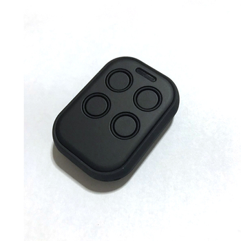 Ajustable Frequency 280-450mhz Remote Control Duplicator Fixed Code Face To Face For Door Opener Black