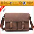 2017 new popular high quality leather messenger bag men leather bag price