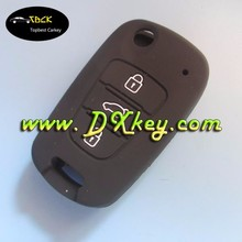 Topbest car key silicone case for New Hyundai Sonata flip silicone key case remote silicone case