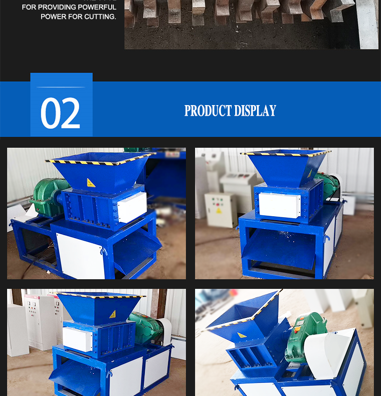 Hard Plastic Waste Prices Tin Can Hdpe Industrial Wood Shredder Chipper
