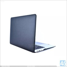 New fashion high quality factory OEM leather sticker case for macbook air 13