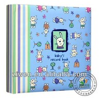 4x6''/10x15cm hold 200 photos Nice/Cute baby book bound promotion paper photo album