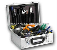 High-capacity aluminium truck tool box
