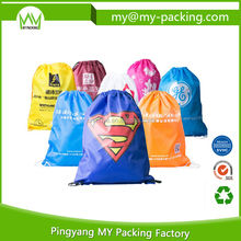 Wholesale Customized Cheap non-woven drawstring bag for Promotion