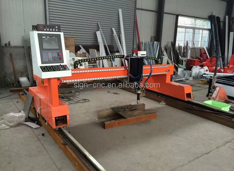 Metal CNC Flame and Plasma Cutting Machine 2560