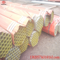 Tianjin pipe welded hot dipped galvanized rigid steel conduit pipe For Fence
