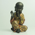 Home table decor little baby monks figurines